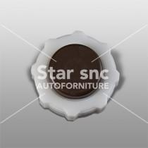 Tappo radiatore (Marrone) adattabile a Renault Clio, Espace, Laguna, Megane, Sport Spider, Trafic, Alpine, 19,21 e 25 – Rif. 7700800531