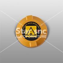 Tappo radiatore (Giallo) adattabile a Alfa, Fiat e Lancia – Rif. GM93288274 – 46764668 – 60665757